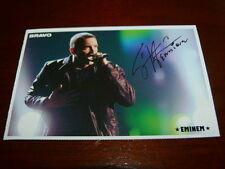 Eminem & David Guetta - Autogrammkarte - ca . 7 cm x 10 cm