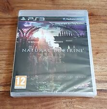 NATURAL DOCTRINE Jeu Sur Sony PS3 Playstation 3 Neuf Sous Blister VF