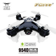 FQ777-954D 0.3MP Camera WiFi FPV APP Control Altitude Hold RC Quadcopter Black