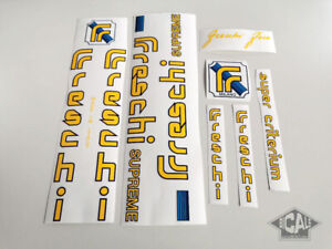 FRESCHI SUPREME decal set sticker complete bicycle FREE SHIPPING