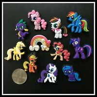 11 Shoe Charms for Crocs MY LITTLE PONY FRIENDSHIP MAGIC Rainbow Twilight Spike