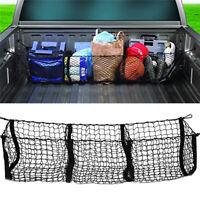 Black Car Trunk Net Pocket Three Grid Luggage Net Three Grid Net Pocket SL