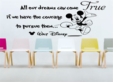 Disney Wall Stickers Quotes Disney Mickey Mouse art decals AR63