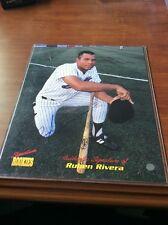 Signature Rookies 8x10  Ruben Rivera Autograph 643/3000
