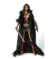 """USA 1/6 VStoys Black cloak clothing Accessories Model Fit For 12"""" Female Body"""