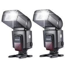 Neewer 2x TT560 Blitzgeräte Speedlite Flash für Canon EOS DSLR Kamera