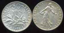50 centimes SEMEUSE 1916