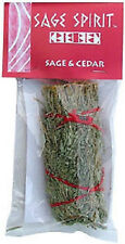 """Desert Sage and Cedar Smudge Stick 5"""" (House Cleansing Remove Negative Energy)"""
