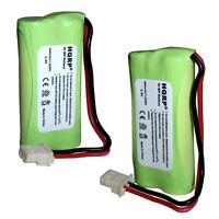 2x HQRP Téléphone Piles Vtech CS6449 CS6449-2 CS6449-3 CL83213 SN1157 SN1196