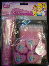 20 x Disney Princess Partito Favori Cancelleria Set Matite rulars PADS TEMPERAMATITE