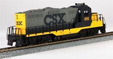 HO TRAIN WALTHERS  CSX  GP9M   LOCOMOTIVE  CSX  WALTHERS  #931-105  CAR #890