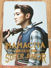 SUPER JUNIOR SJ MAMACITA AYAYA SM LOTTE POP UP SIWON PHOTOCARD PHOTO CARD NEW