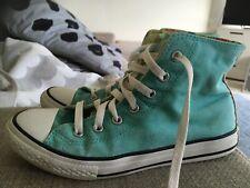 Converse Mint Green Size 3 High Tops