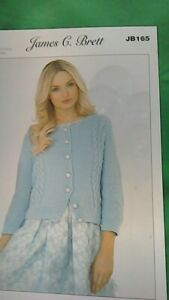 knitting pattern for  ladies and childs dk  cardigan size 28 to 46
