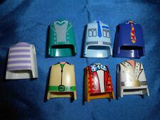 Playmobil City Life 7 x diferentes torso colección elvis payaso corbata