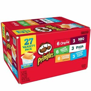 Pringles Auswahl Packung, Sechs S, 27 Anzahl