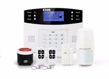 New Wireless LCD GSM SMS Home Security Burglar House Alarm System Cellular