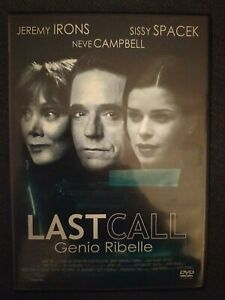 DVD Last Call - Genio Ribelle (2004) Mondo Home International
