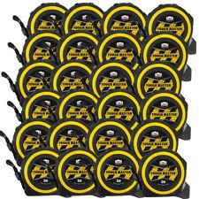 Toughmaster Pocket Tape Measures Metric/Imperial 5M/16ft Anti-Impact Pack of 24