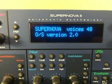 Novation SuperNova II Rack Pro X 48 Voice V2.0 Rom with Manual