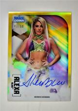 2020 WWE Chrome Base Auto Gold #A-AL Alexa Bliss /50