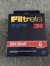 Dirt Devil Type G Bags  3010348001  Fits Corded Hand Vacs Type G -12 Bags