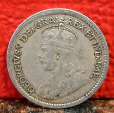 Very Nice 1912 Silver 5 Cent from Canada KM# 22