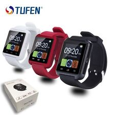 Montre Intelligente à Puce Smartwatch Pour Iphone Android Noire.