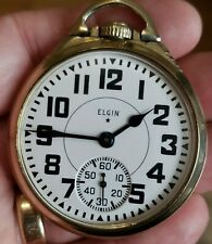 Jewel Gold Filled Railroad Rr Pocket Watch New listing