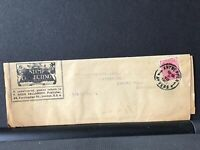 Antwerp 1927 Stamp Collecting Newspaper to Brit Isles stamps wrapper Ref R28327