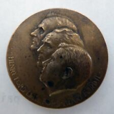 1903-1953 Ford 50 Year Medal Henry, Edsel, Henry Ii Ford