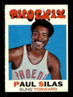 1971-72 Topps #54 Paul Silas EXMT/EXMT+ Suns 127527