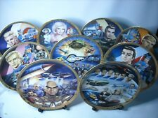 Choose ONE OR MORE Plates THUNDERBIRDS COLLECTION Hamilton Plate Steve Kyte