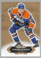 2016-17 Fleer Showcase Connor McDavid 2nd Year Card # 49 Edmonton Oilers NM/MT