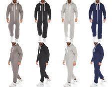 Raff & Taff Herren Jumpsuit Overall Trainingsanzug Fitnessbekleidung Onesie Ganz