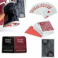 Jumbo Poker 100% PLASTIC Deck Playing Cards Poker Casino K8F0 Standar U8K4