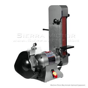 JET IBGB-248 Combination Bench Grinder and Belt Sander 578248