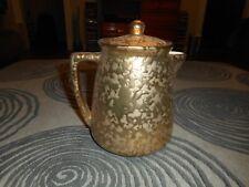 Vintage McCoy Teapot 24K Gold