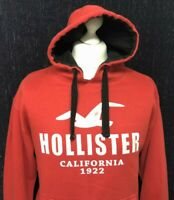 HOLLISTER Mens Red Hoodie Size Large