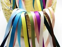 "20 Meter 9mm(3/8"") Double Sided Satin Ribbon Gift Bow Wedding Craft 20 Color"