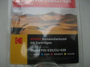Agfa Photo Canon 5-SET PGI-525 BK+CLI-526 C Y M BK Pixma MG-5250 -6150 8150