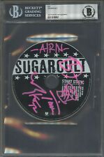 8062 Sugarcult Signed CD AUTO Autograph Beckett BGS