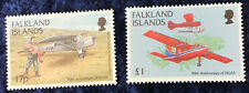 Falkland Islands SG823/4 50th Anniversary of  Govt. Air Service MNH C/V £12 2016