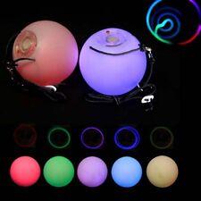 Juggle sueño Multi Función LED poi efecto resplandor Poi Spinning Set - 8 ajustes