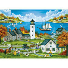 BONNIE WHITE GALLERY JIGSAW PUZZLE WATCHING OVER THE BAY 1000 PCS #38887