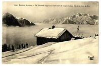 CPA 74 Haute-Savoie Environs d'Annecy La Tournette vue du Col de la Croix de fry