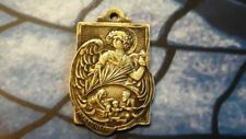 ANTIQUE METAL MEDAL HOME PROTECTOR