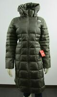 NWT Womens The North Face TNF Metropolis Parka Long Down Warm Jacket - Green