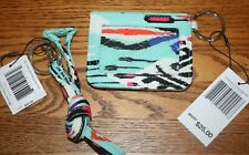 Vera Bradley PUEBLO CAMPUS DOUBLE ID CASE AND  BREAKAWAY LANYARD small wallet