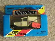 Matchbox Die-cast MB38 Ford Model A Ford The Australian 1981 MISB